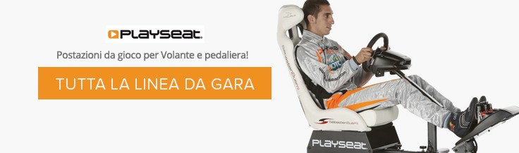 PlaySeat La linea da gara