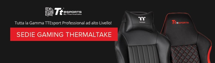 ThermalTake Sedie Gaming