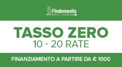 Findomestic Tasso zero