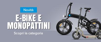 E-Bike e Monopattini