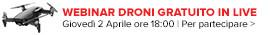 Webinar Droni