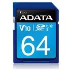 Adata 64GB Premier SDXC / SDHC UHS-I Classe 10 serie V10