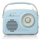 Akai R100 Radio Portatile Crema, Azzurro