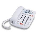 Alcatel TMAX 20 Telefono analogico/DECT Bianco