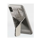 AMOBII Cover per iPhone X e XS Parigi Grigio