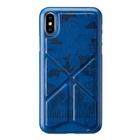 AMOBII Cover per iPhone X e XS SYDNEY Blu