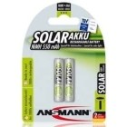Ansmann 1x2 Batteria micro AAA maxe 800 mAh solar