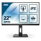 "AOC 22P2Q LED 21.5"" 1920 x 1080 Pixel Full HD Nero"