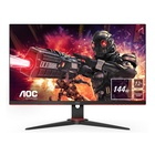 "AOC Gaming 24G2AE/BK 23.8"" Full HD LED Nero, Rosso"