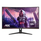 "AOC Gaming C32G2AE/BK LED 31.5"" Full HD Nero, Rosso"