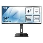 "AOC Pro-line CU34P2A LED 34"" 2K Ultra HD 1ms Curvo 100Hz Nero"