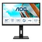 "AOC Pro-line Q32P2 31.5"" 2K Ultra HD LED 75hz Nero"