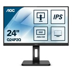"AOC Q24P2Q LED 23.8"" 2K Quad HD 4ms Nero"