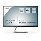 """AOC Style-line Q27T1 27"""" QHD 75Hz LED Argento"""