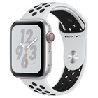 Apple Watch Nike+ Series 4 OLED Cellulare GPS Sport Argento