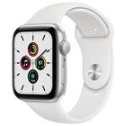 Apple Watch SE GPS, 44mm Sport Bianco