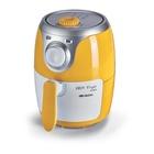 Ariete Airy fryer mini Singolo 2L Indipendente 1000W Hot air fryer Argento, Giallo