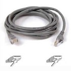 Belkin Cable patch CAT5 RJ45 snagless 3m Grigio - Grey