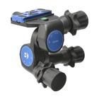 Benro Geared Testa a tre movimenti con controllo micrometrico