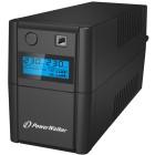 BlueWalker VI 650SE LCD/IEC A linea interattiva 650VA 4AC outlet(s) Mini tower Nero