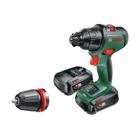 Bosch AdvancedImpact 18 1500 Giri/min Senza chiave 1,1 kg Nero, Verde