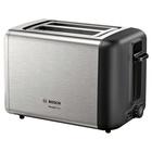 Bosch TAT3P420 tostapane 2 fetta/e Nero, Acciaio inossidabile 970 W
