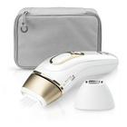 Braun Silk-expert Pro 81677897 depilazione a luce pulsata Bianco, Oro Luce pulsata intensa (IPL)