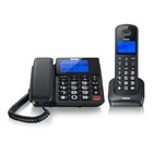 Brondi Bravo Style Combo Telefono DECT Nero