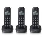 Brondi Gala Trio Telefono DECT Nero Identificatore di chiamata