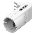 BTicino S3615DE Adattatore per presa di corrente Tipo L (IT) Bianco