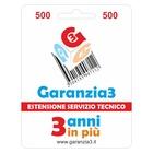 Business Company Estensione del servizio tecnico 3 Anni - Oggetti fino a € 500.00