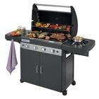 Campingaz 4 Series Classic LS Plus Dark 15100 W Barbecue Gas Carrello Nero