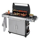 Campingaz 4 Series RBS LXS 12400 W Barbecue Gas Zona cottura Nero, Grigio
