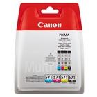 Canon CLI-571 Multipack Original Nero, Ciano, Magenta, Giallo 4 pezzo(i)