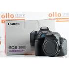 Canon EOS 200D Nero Body Usata Scatti 19000 circa
