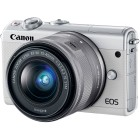 Canon EOS M100 Bianco + EF-M 15-45mm f/3.5-6.3 IS STM Argento ESPOSIZIONE