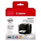Canon PGI-2500 BK/C/M/Y Nero, Ciano, Magenta, Giallo Multipack