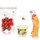 Classe Set Svuotino Arancione + Buste + Contenitori frigo + Tappino
