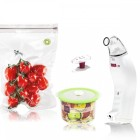 Classe Set Svuotino Bianco + Buste + Contenitori frigo + Tappino