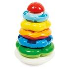 Clementoni Anelli Impilabili del Bosco Allegro giocattolo da appendere per bambini