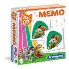 Clementoni Memo Gioco di carte di apprendimento
