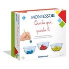 Clementoni Montessori Questo qui, quello lì Gioco didattico Bambini