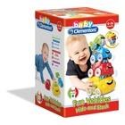 Clementoni Veicoli Attività Scopri e Impila giocattolo da appendere per bambini