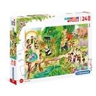 Clementoni Zoo Puzzle 24 pezzo(i)