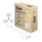 Club3D ADATTATORE USB 3.1 TYPE C TO MDP 1.2+ PD 60 W