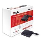 Club3D USB Type-C to HDMI™ 2.0 + USB 2.0 + USB Type-C Charging Mini Dock