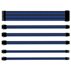 Cooler Master CMA-SEST16BLBK1-GL Cavo Sleevato Nero, Blu