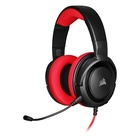 Corsair HS35 Cuffie Stereofonico Gaming Nero, Rosso