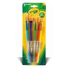 Crayola 5 Paint Brushes 5 pezzo(i)