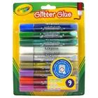 Crayola 9 Glitter glue Ser di brillantini